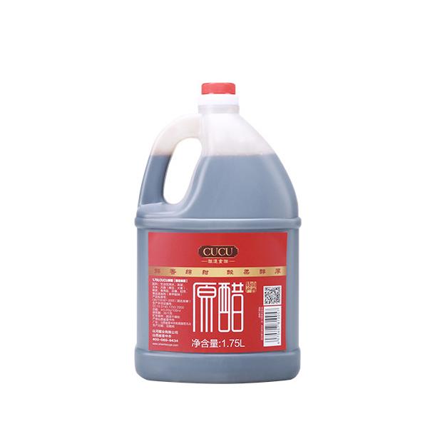 CUCU 山西5度原醋 无添加纯手工老陈醋 1750ml/桶