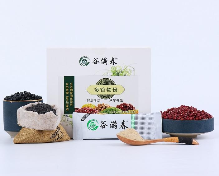 【谷满春】多谷物粉 营养代餐粉30g*28袋/盒