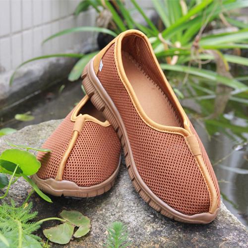 佛教用品 春夏季网面居士鞋 僧鞋 和尚鞋单鞋 男女款罗汉鞋禅修鞋